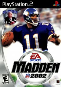 Обложка Madden NFL 2002