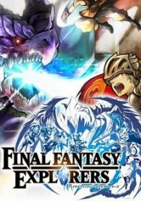 Обложка Final Fantasy Explorers