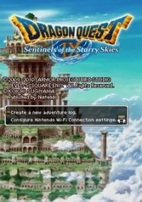 Обложка Dragon Quest IX: Sentinels of the Starry Skies