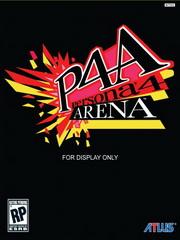 Обложка Persona 4 Arena