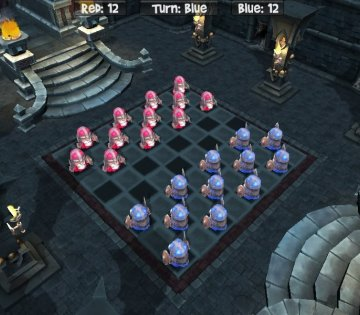 Medieval checkers