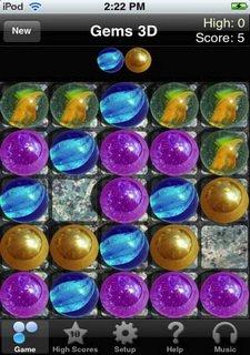 Free Gems 3D Puzzles
