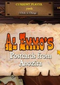 Обложка Al Emmo's Postcards from Anozira