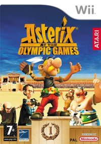 Обложка Asterix and the Olympic Games