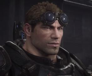 Пример переснятой катсцены из Gears of War: Ultimate Edition