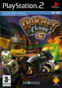 Обложка Ratchet & Clank 3