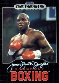 James 'Buster' Douglas Knock Out Boxing