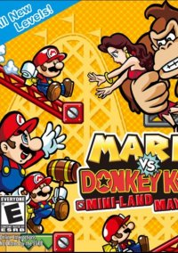 Обложка Mario vs. Donkey Kong: Mini-Land Mayhem