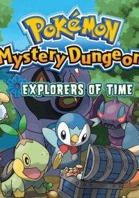 Обложка Pokémon Mystery Dungeon: Explorers of Time