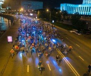 Как прошел ночной велопарад 2017 вМоскве. Заезд глазами участников