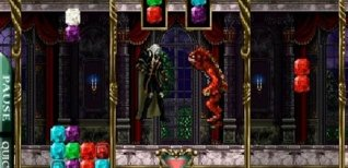 Castlevania Puzzle: Encore of the Night. Видео #1