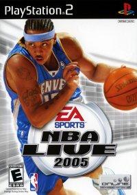 Обложка NBA Live 2005