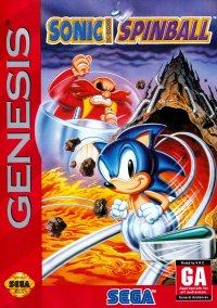 Обложка Sonic the Hedgehog Spinball