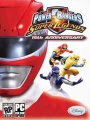 Обложка Power Rangers: Super Legends