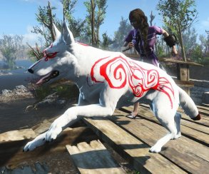 Мод к Fallout 4 делает из Псины японскую богиню солнца