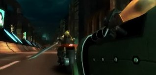 Final Fantasy 7 G-Bike. Видео #1