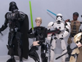 Нелепые приключения фигурок LEGO Star Wars
