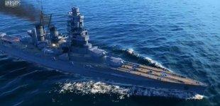 World of Warships. Трейлер сравнения линкоров США и Японии