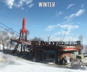 Мод на времена года делает Fallout 4 похожим на The Last of Us