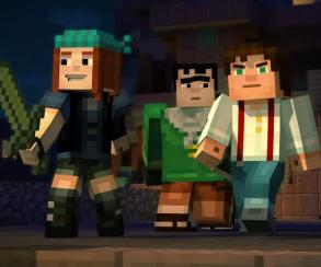 Первые подробности и трейлер Minecraft: Story Mode