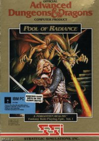 Обложка AD&D 3 Pool of Radiance