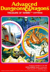 Обложка Advanced Dungeons & Dragons: Treasure of Tarmin