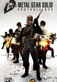 Обложка Metal Gear Solid: Portable Ops