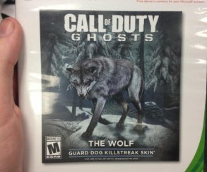 В сетевой режим Call of Duty: Ghosts придет белый волк