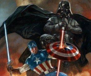 Что общего у Капитана Америка и Дарта Вейдера? Оказывается, немало!