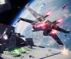 Геймплей космических сражений Star Wars: Battlefront 2 сGamescom 2017