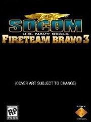 Обложка SOCOM: U.S. Navy SEALs Fireteam Bravo 3