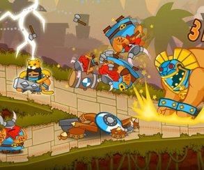 Двухмерную стратегию Swords & Soldiers продолжат на Wii U