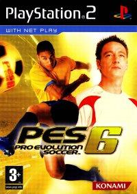Обложка Pro Evolution Soccer 6