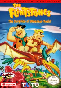 Обложка The Flintstones: The Surprise at Dinosaur Peak!