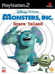 Обложка Monsters, Inc. Scare Island