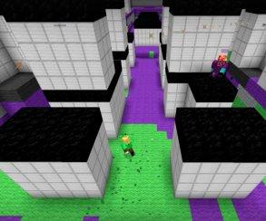 Появился Splatoon для Minecraft