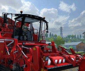 Сегодня Farming Simulator вышел на консолях Xbox 360 и PlayStation 3