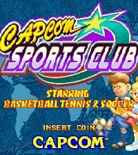 Обложка Capcom Sports Club