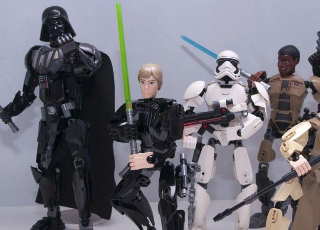 Нелепые приключения сборных фигурок LEGO Star Wars