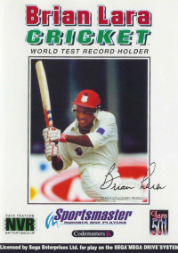 Обложка Brian Lara Cricket