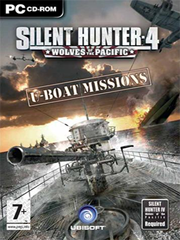 Обложка Silent Hunter 4: Wolves of the Pacific - U-Boat Missions