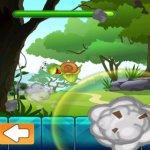 Скриншот Save the Little Snail Venture - A Falling Rock Avoiding Game – Изображение 2