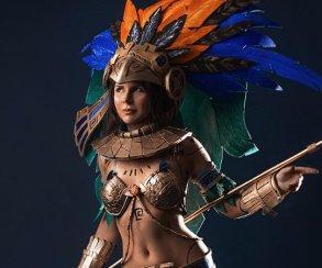 Косплей дня: принцесса ацтеков из Civilization Online