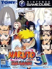 Обложка Naruto: Gekitou Ninja Taisen 3