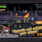Скриншот Clumsy Knight vs. Skeletons – Изображение 4