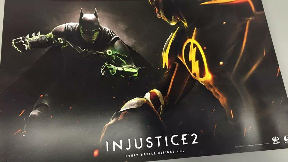 Утекший в Сеть арт подтверждает Injustice 2 - Изображение 1
