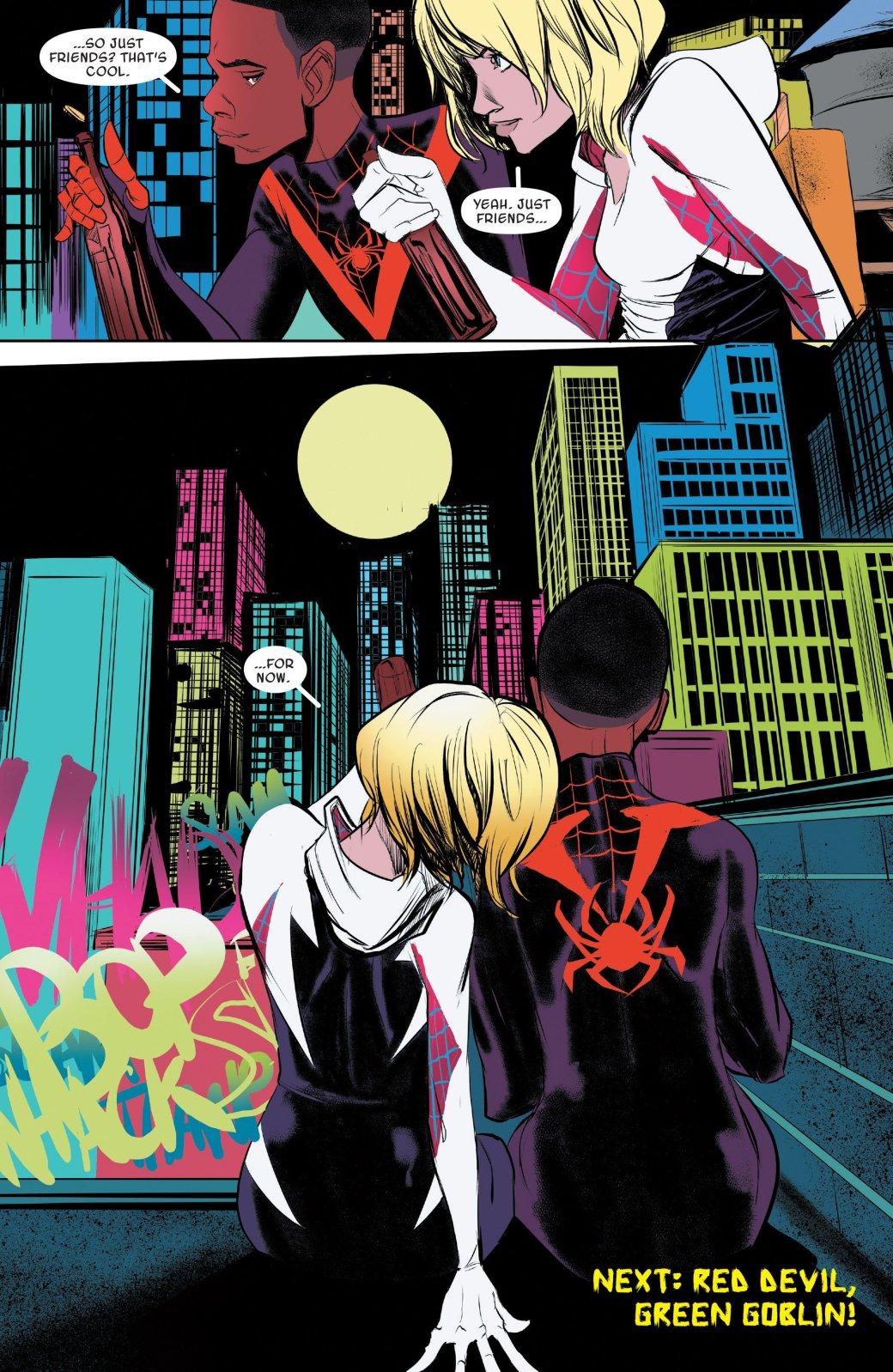Финал кроссовера Человека-паука Майлза Моралеса и Гвен-паук - Изображение 5
