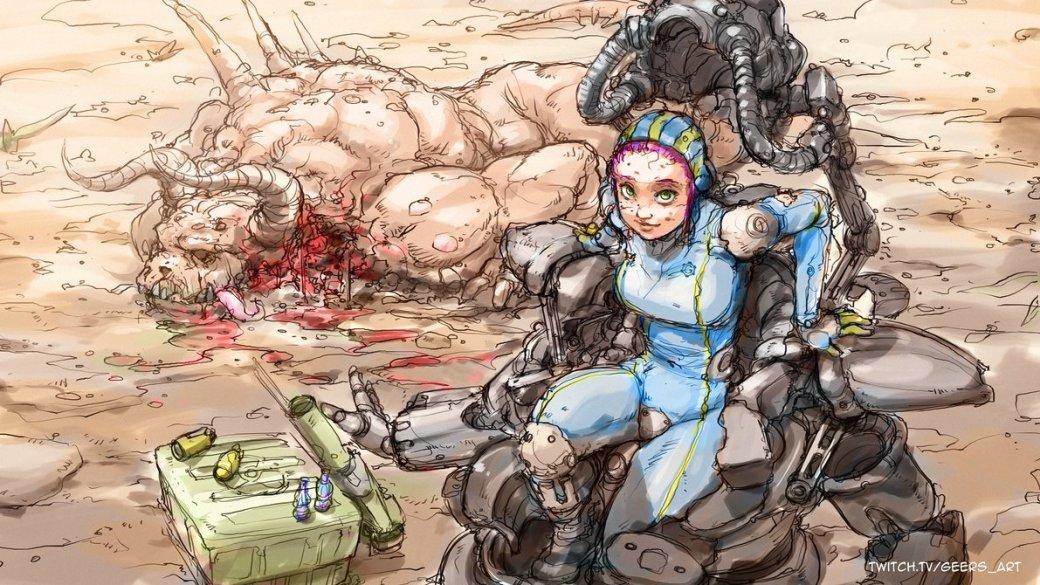 Лучший арт мира Fallout - Изображение 37