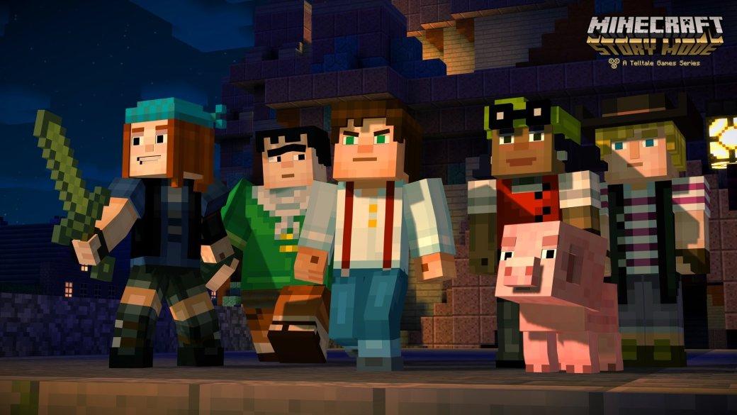 Первый эпизод Minecraft: Story Mode выйдет в конце октября - Изображение 1