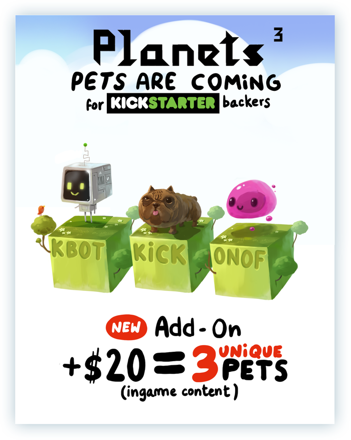 Гость с Kickstarter: Planets³. - Изображение 24